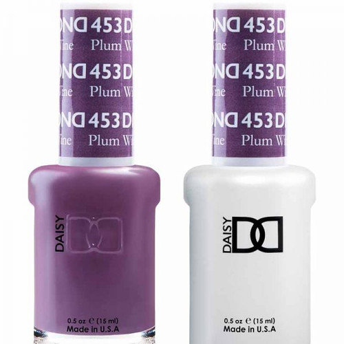Daisy Gel Polish Plum Wine 453