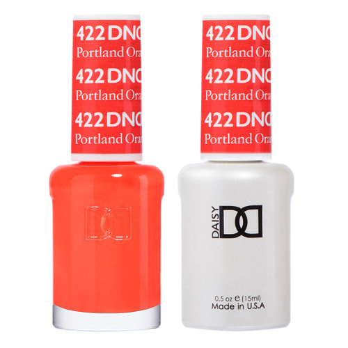 Daisy Gel Polish Portland Orange 422
