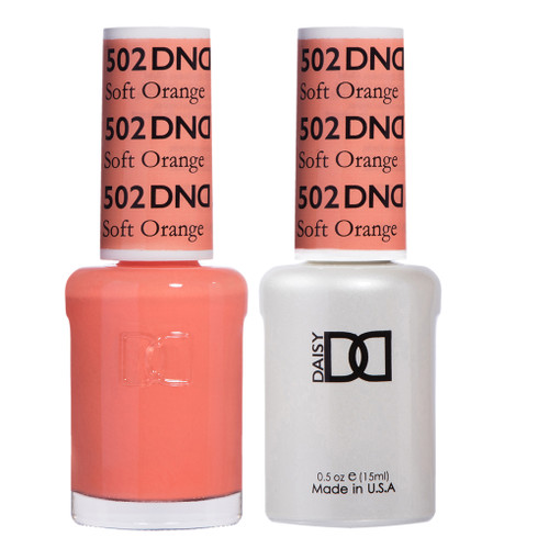 Daisy Gel Polish Soft Orange 502