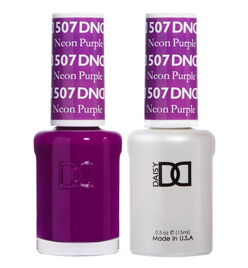Daisy Gel Polish Neon Purple 507
