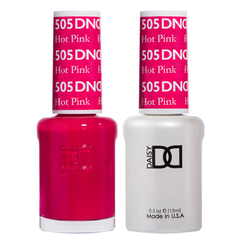 Daisy Gel Polish Hot Pink 505
