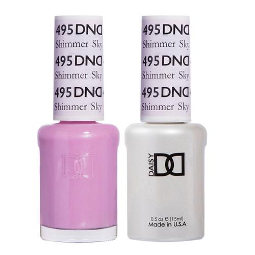 Daisy Gel Polish Shimmer Sky 495