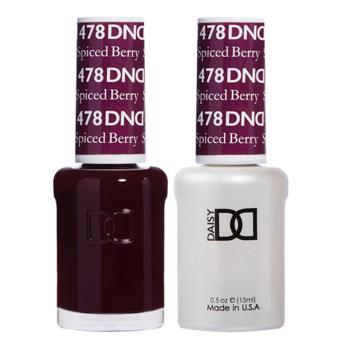 Daisy Gel Polish Spiced Berry 478