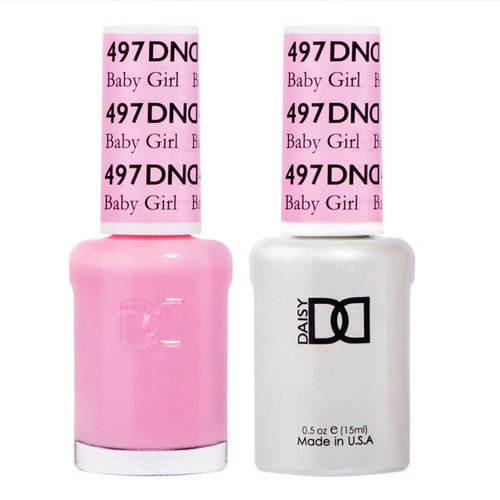 Daisy Gel Polish Baby Girl 497