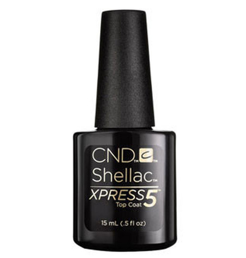 CND Shellac Xpress5 Top Coat 0.5oz