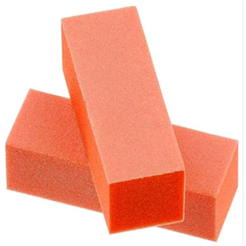 80/80/100 Orange Nail Buffer Block