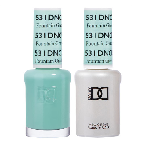 Daisy Gel Polish Fountain Green UT 531