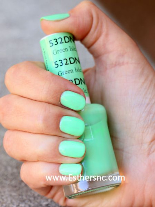 Daisy Gel Polish Green Isle MN 532 - Esther\'s Nail Center