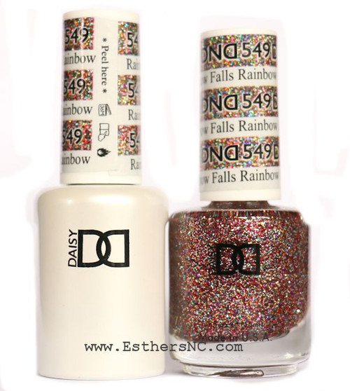 Daisy Gel Polish Rainbow Falls 549