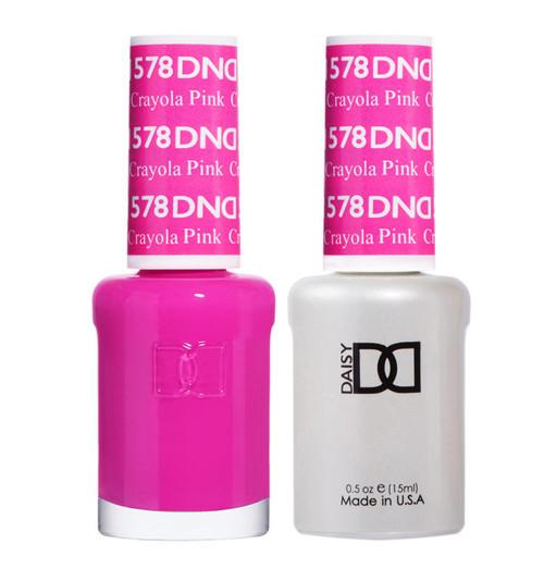 Daisy Gel Polish Crayola Pink #578