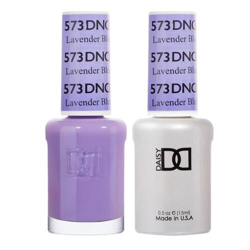 Daisy DND Gel Polish Lavender Blue #573