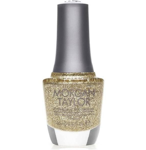 Morgan Taylor Lacquer All That Glitters is Gold
