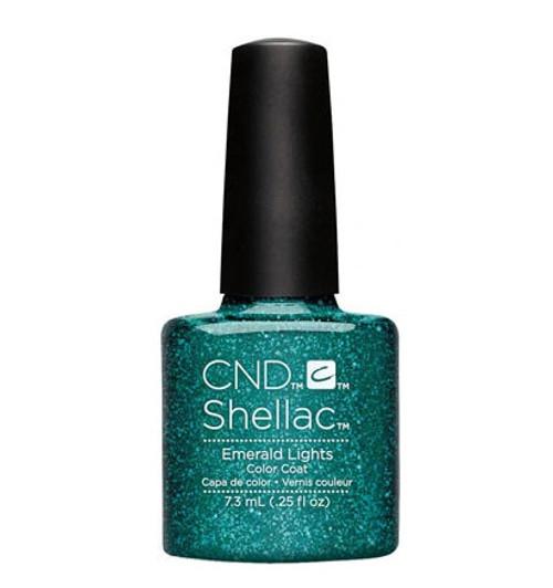 CND Shellac Emerald Lights