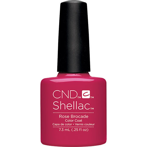 CND Shellac Rose Brocade