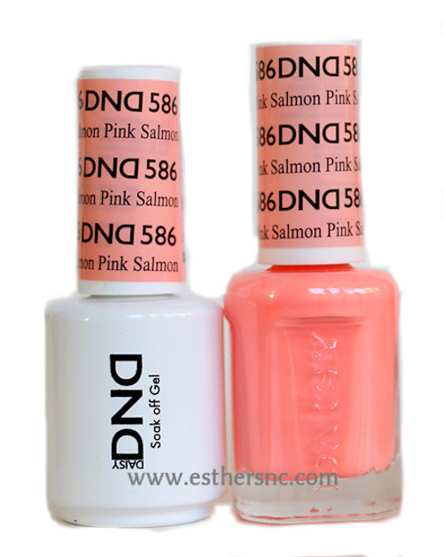 Daisy Gel Polish Pink Salmon #586