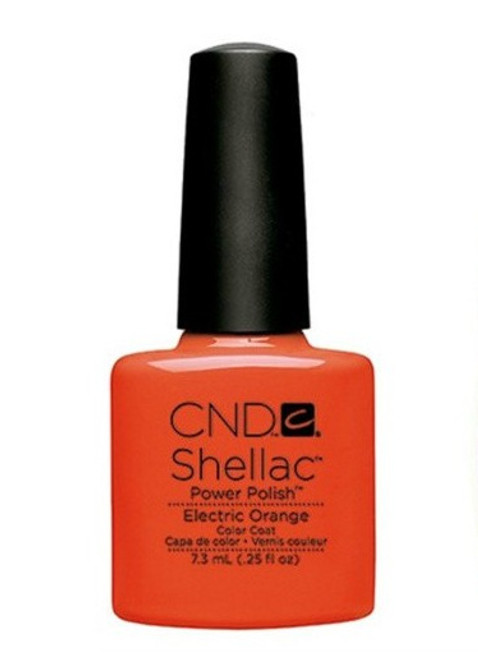 CND Shellac Electric Orange