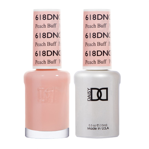 Daisy Gel Polish Peach Buff #618