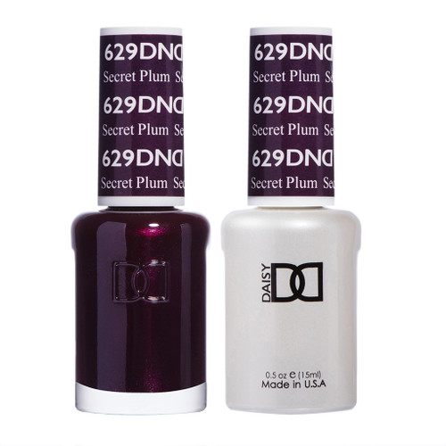 Daisy Gel Polish Secret Plum #629