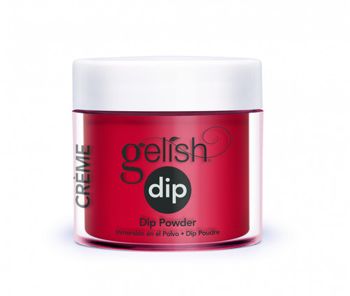 Gelish Dip Hot Rod Red
