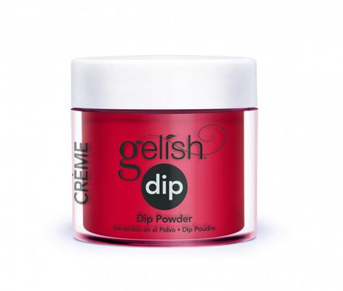 Gelish Dip Hot Rod Red