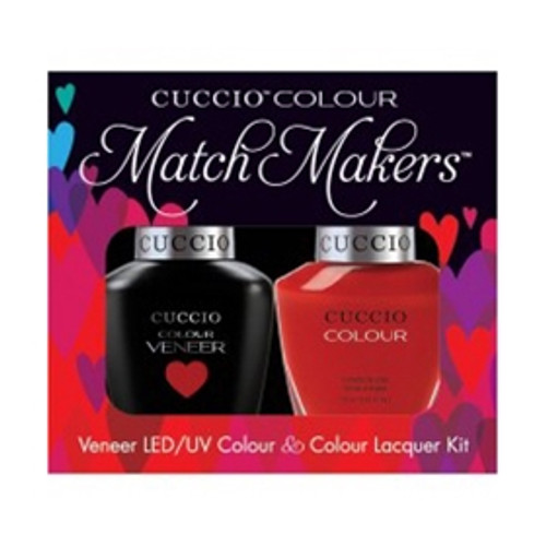 Cuccio Match Makers Gel Polish Maine Lobster
