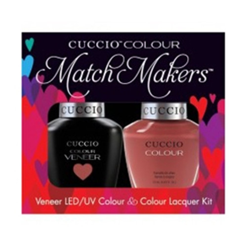 Cuccio Match Makers Gel Boston Cream Pie