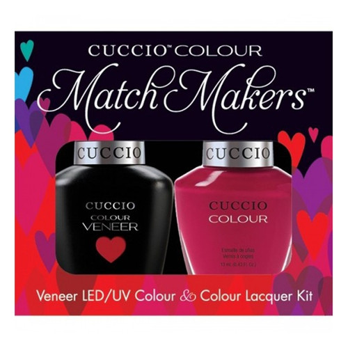 Cuccio Match Makers Gel Heart & Seoul