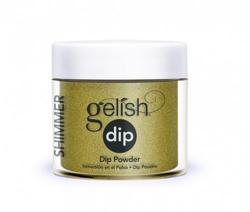 Gelish Dip Give Me Gold