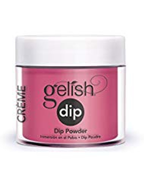 Gelish Dip All Dahlia-ed Up