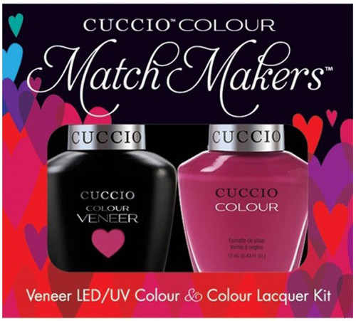 Cuccio Match Makers Gel Polish Argentinian Aubergine