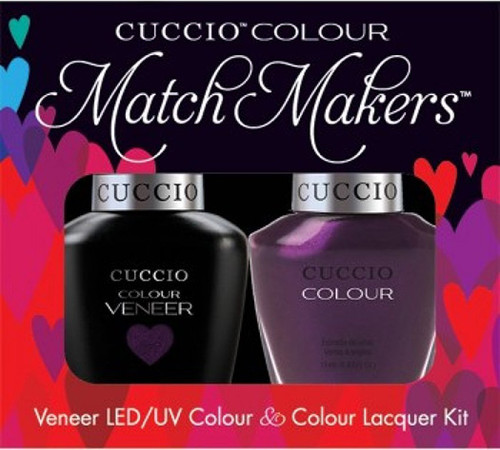 Cuccio Match Makers Gel Polish Brooklyn Never Sleeps