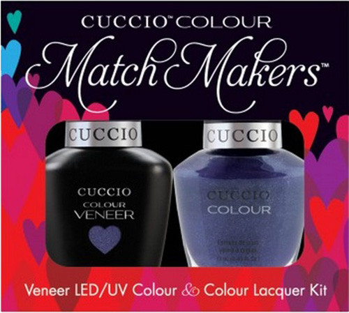 Cuccio Match Makers Gel Polish Purple Rain In Spain