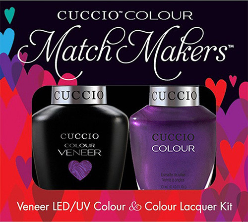 Cuccio Match Makers Gel Polish Grape To See You