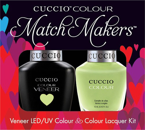 Cuccio Match Makers Gel Polish In The Key Of Lime