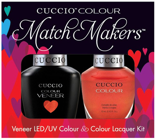 Cuccio Match Makers Gel Polish Satellite My Fire
