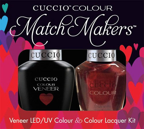 Cuccio Match Makers Gel Polish Royal Flush