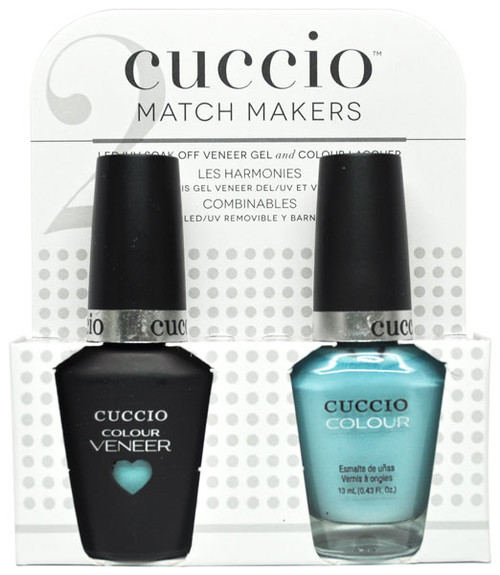 Cuccio Match Makers Gel Polish Blue Hawaiian