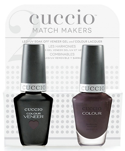 Cuccio Match Makers Gel Polish Smoking Gun