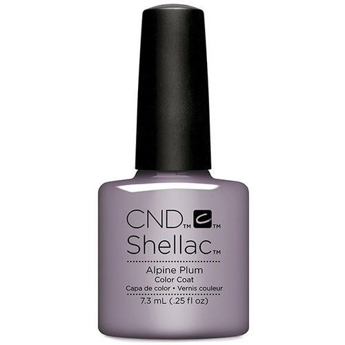 CND Shellac Alpine Plums