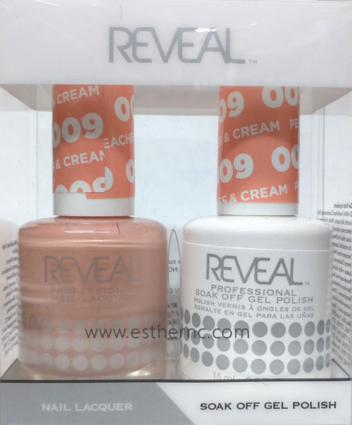 Reveal Gel Polish Peaches & Cream #009