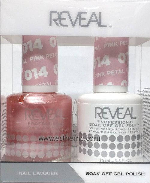 Reveal Gel Polish Pink Petal #014