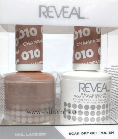 Reveal Gel Polish Champagne Bubbles #010