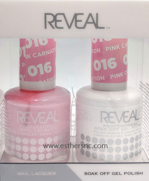Reveal Gel Polish Pink Carnation #016