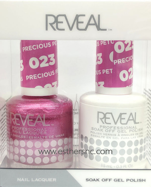 Reveal Gel Polish Crushed Berries #024