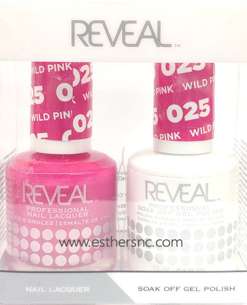Reveal Gel Polish Wild Pink #025