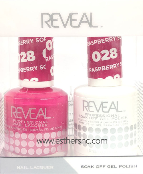 Reveal Gel Polish Raspberry Sorbet #028