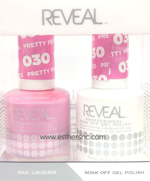 Reveal Gel Polish Pretty Peonies #030