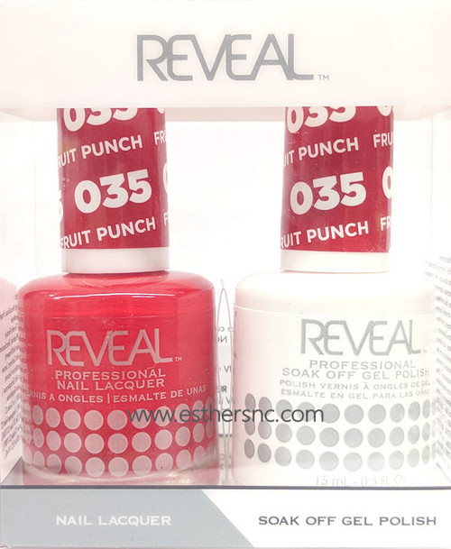 Reveal Gel Fruit Punch #035