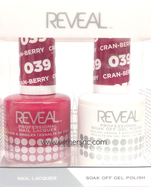Reveal Gel Cran-Berry #039