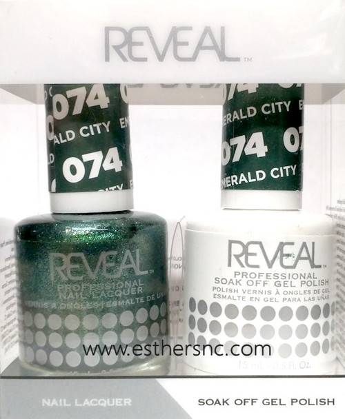 Reveal Gel Emerald City #074
